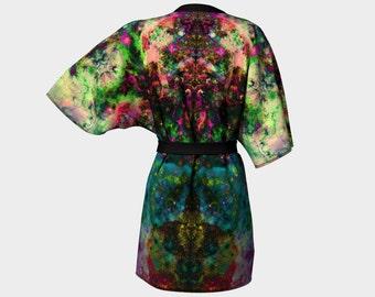 Lucid Trippy Original Kimono Robe