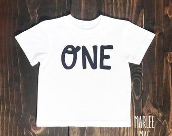 One boys birthday shirt, first birthday, boys birthday