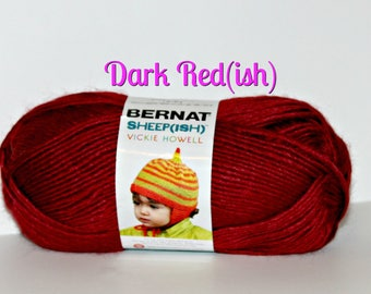 Sheepish Yarn by Bernat - DISCONTINUED, Hard to find, Perfect for making things for baby, accessories, hats, toys, blankets, hats and more