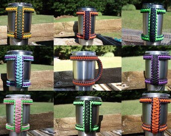 CUSTOM colors/orders available- Yeti/Ozark Trail tumbler handle for 20oz, 30oz or 40oz