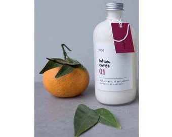 Body lotion with fig