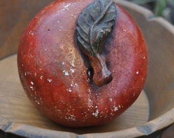 Art Studio, Artist Tool, Still Life, Drawing and Sketching, Fruit, Apple, Chalkware, Farmhouse, Cottage
