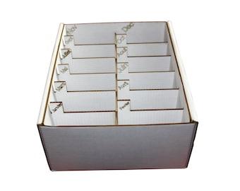 Box storage annual lockers engraved