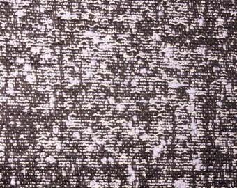 Irregular Pastel Blue Tweed Pattern  | Boucle Cotton Designer Fabric