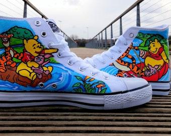 Custom Handpainted Children's Shoes