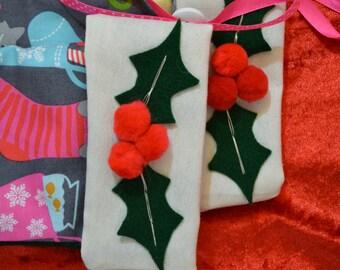 Pair Christmas Stocking - Pet Christmas Stockings - Cat Christmas Stocking - Fill Stocking with Toys & Treats