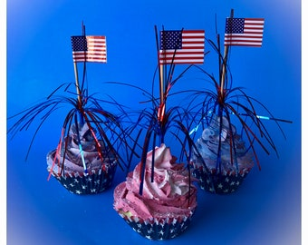 Patriotic Themed Cupcakes