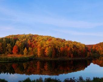 Autumn Horizon - Photo Print - Free Shipping
