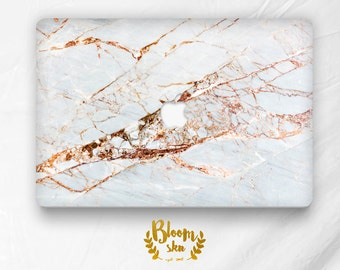 Marble Macbook decal Marble macbook skin Macbook skin Marble macbook air Macbook air gold White marble skin Gold macbook skin BS036