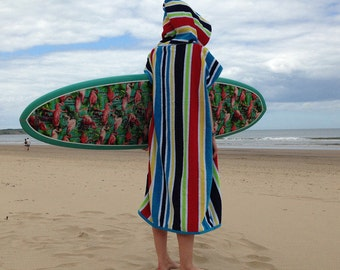CoverUp Surf Changing Towel Deck Stripes
