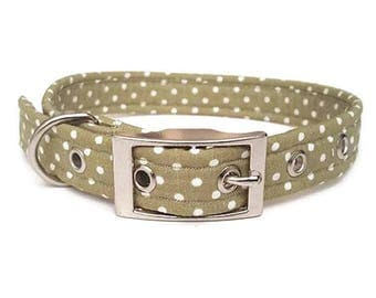Listing for Polka Dot Dog Collars - Plastic Buckle Only - 20% OFF As No Examples Made Up