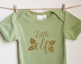 Little Elf - Organic Cotton Baby 1sie One-piece Bodysuit