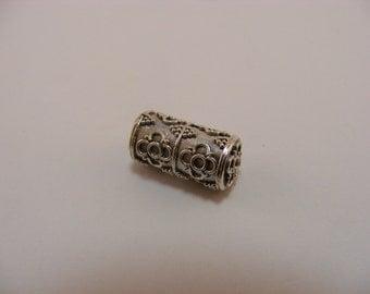 Sterling Silver Handmade Bali Bead Style B424