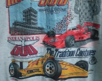 SALE 10 % Vintage 90s The Indianapolis 500