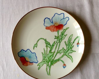 Poppy coupe plate