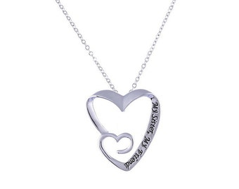 My Sister My Friend best friend sister necklace jewelry