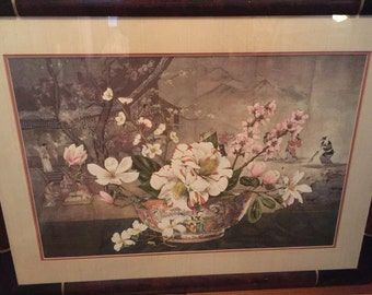 """Dimitry Alexandroff Lithograph """"The Chinese Bowl"""""""