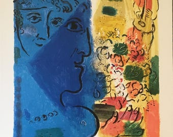 Marc Chagall Poster. Peintures 1947-1967