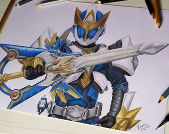 ORIGINAL DRAWING of Ryukendo