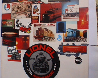 Mint Lionel Train Catalog 1975