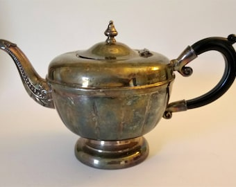 Vintage Silver Plate Teapot Viking Plate Teapot Made In Canada