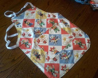 Apron for little cooks, apron for children, made to order, custom apron, imitation games
