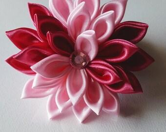 Pink Flower Hair Clip - Pink Hair Flower - Pink Hair Clip - Easter Hair Clip - Hair Flower Clip - Hair Flower - Hair Clip
