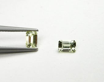 Natural Yellow Sapphire 1.09ct matched pair