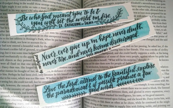 Bookmarks, Endearing Set of 3