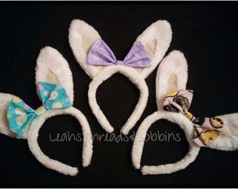 Easter Bunny Ears With Bow