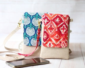 Mini crossbody bag Pdf Pattern, Cell Phone Sleeve  Pdf Pattern, Phone pouch mini sling bag downloadable pattern, instant download