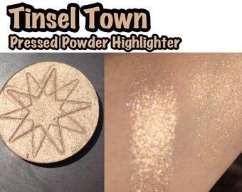 Tinsel Town - Pressed Powder Highlighter / Eyeshadow - 36mm PAN