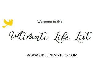 Sideline Sisters Ultimate Life List