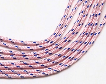 Paracord 2mmx5m pink/blue