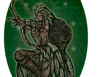 Print - Jurema - Queen of the Forest