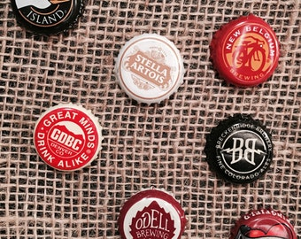 Domestic, Imported, and Craft Beer Magnets