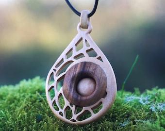 Organic - wood jewelry # 108