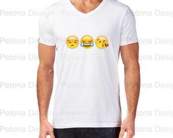 trendy slang  Emoji T shirt