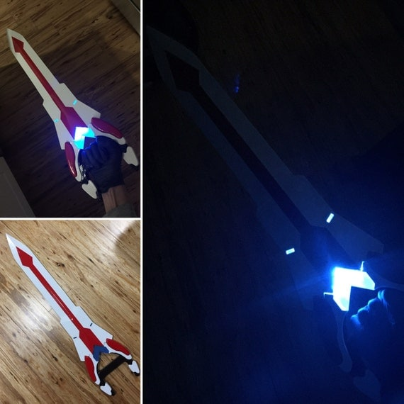 Voltron Prop Keith Sword and Bayard for Cosplay 3D Printed