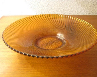 Glass bowl from the 60s