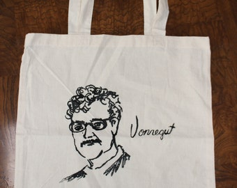 Kurt Vonnegut Literary Tote Bag