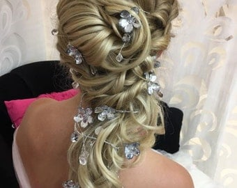 CHRISSY -  Silver Hair Vine