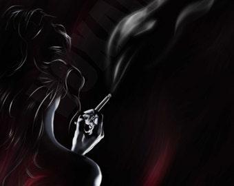 Dreams in smoke