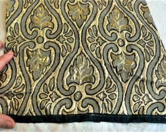 Metallic Fabric Etsy