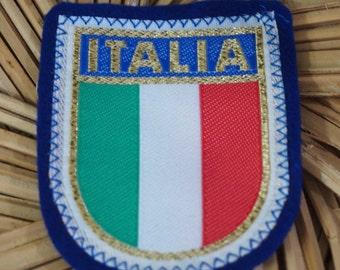 Vintage Italia Sew On Patch Tourist Souvenirs