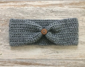 Crochet Earwarmer Headband sized Newborn-Adult