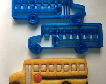 School Bus Cookie Cutter Set