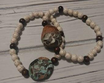 Earth Tone Bestie Bracelets/Stretchy