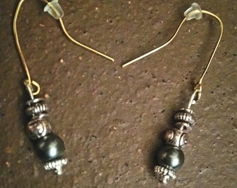 medieval gothic earrings