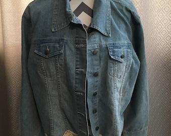 Blue Jean Pant Suit